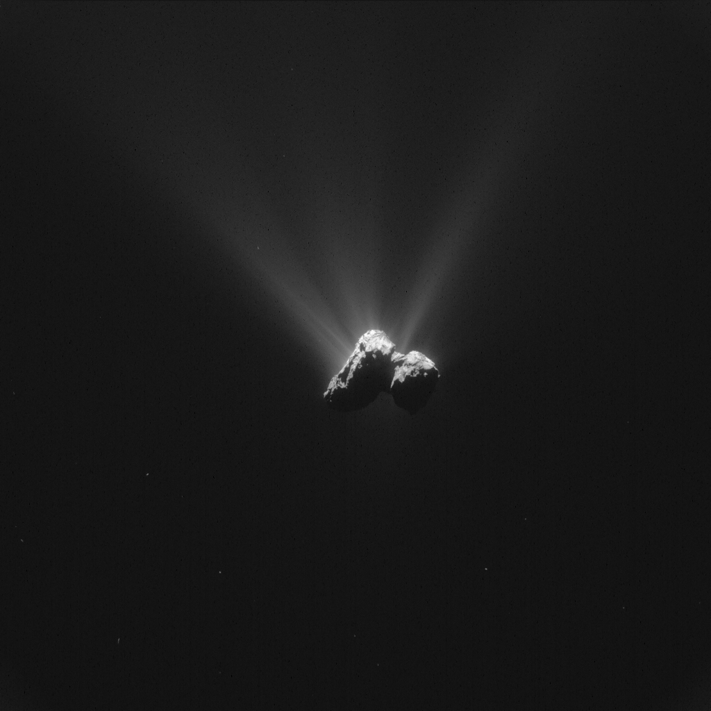 ESA_Rosetta_NavCam_20150816_LR