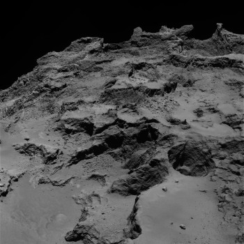 Layers in Seth. Credits: ESA/Rosetta/MPS for OSIRIS Team MPS/UPD/LAM/IAA/SSO/INTA/UPM/DASP/IDA