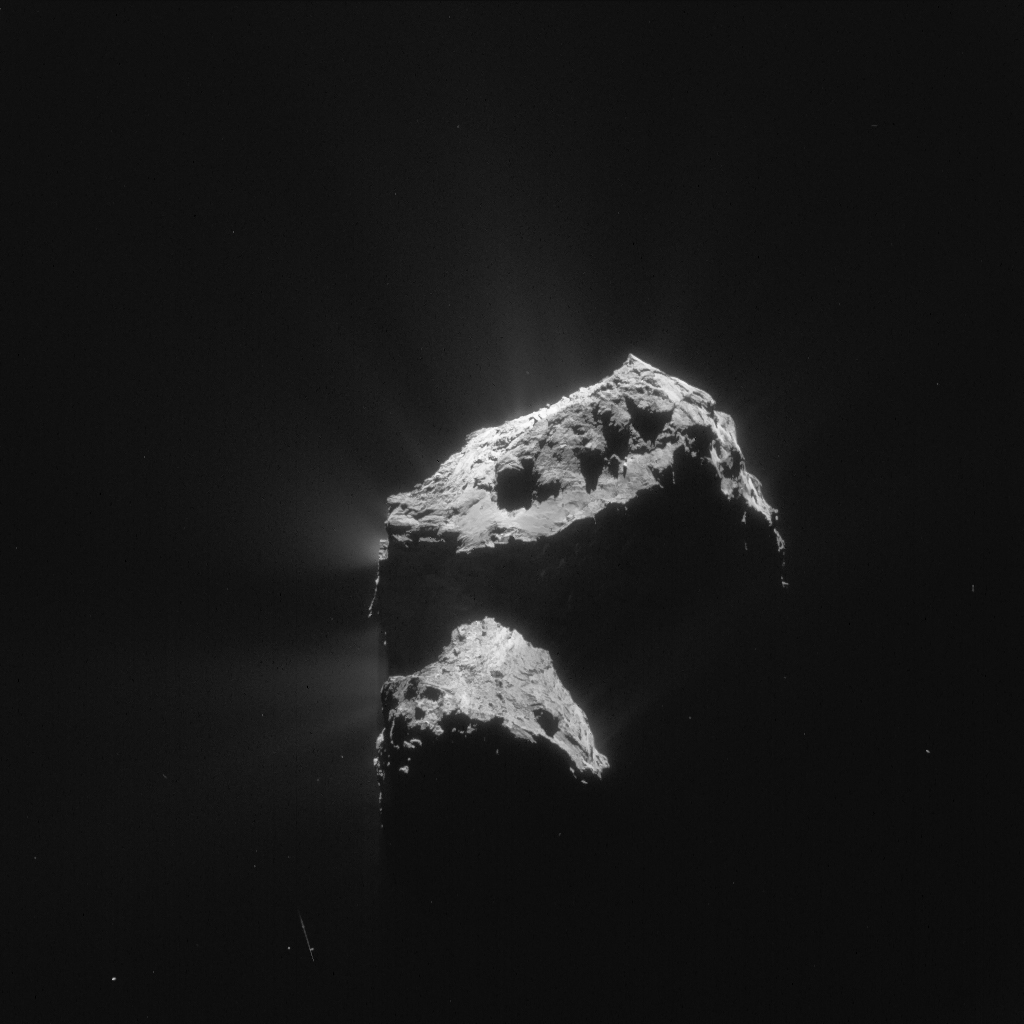ESA_Rosetta_Navcam_20151207_LR