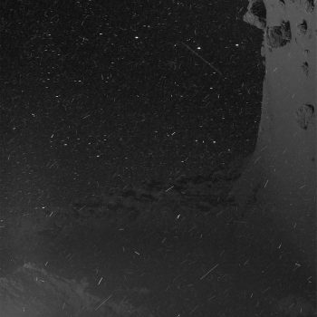 Rosetta faces a dusty environment like this every day at Comet 67P/Churyumov–Gerasimenko. Credits: ESA/Rosetta/MPS for OSIRIS Team MPS/UPD/LAM/IAA/SSO/INTA/UPM/DASP/IDA