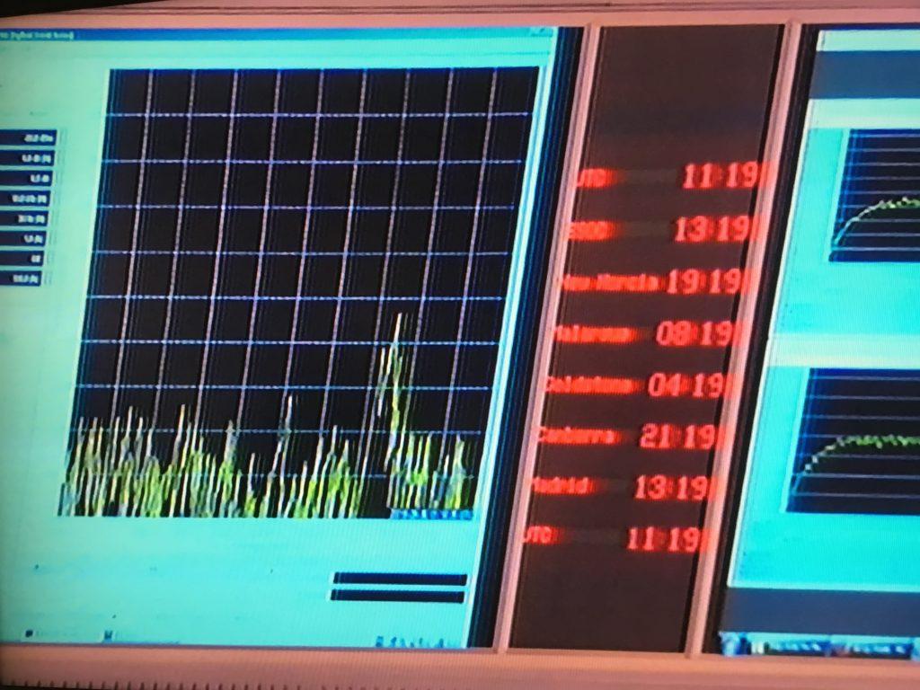 Rosetta's radio signal is almost gone Credit: ESA