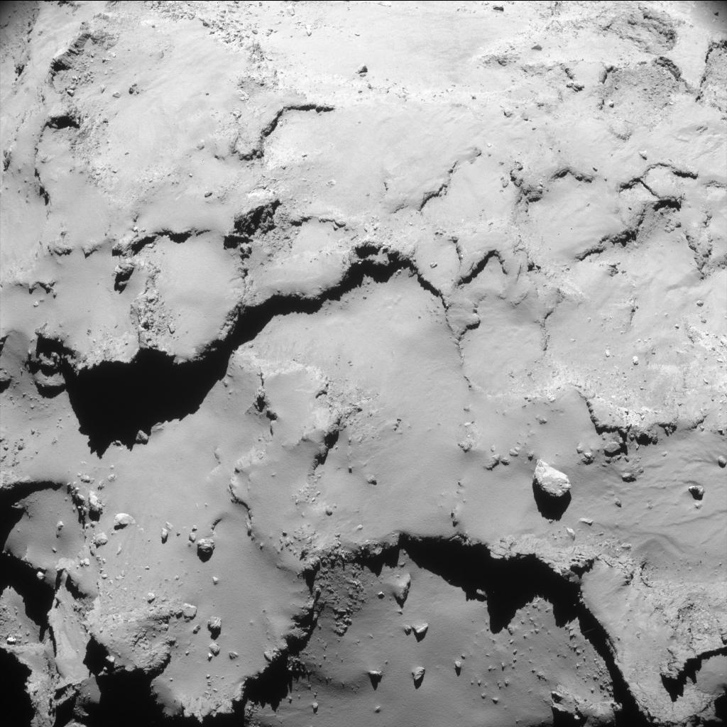 00:27 UT 30 September 2016 ESA/Rosetta/NAVCAM – CC BY-SA IGO 3.0