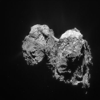 Image taken with the navigation camera (NavCam), 28 January 2016. Credit: ESA/Rosetta/NAVCAM, CC BY-SA IGO 3.0