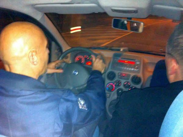 Astro Luca drives tweeps home Credit: @nhaima or @timmermansr (we can't remember which...)