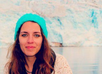Sara Aparício in Svalbard