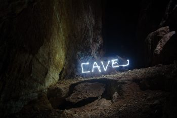Cave art by Thomas. Credits: ESA–T. Pesquet