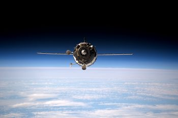Soyuz approaching International Space Station seen by ESA astronaut Tim Peake in 2016. Credits: ESA/NASA