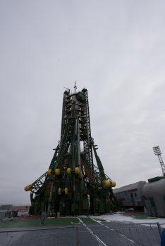 Soyuz MS-03 ready for launch. Credits: ESA