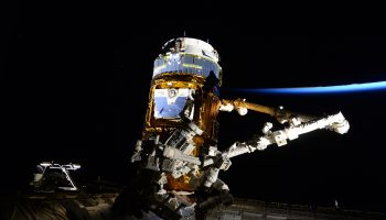 HTV-6 supply ship. Credits: ESA/NASA