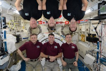 Expedition 50 crew. Credits: ESA/NASA
