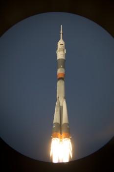 Soyuz TMA-19M launch. Credits: ESA-S. Corvaja