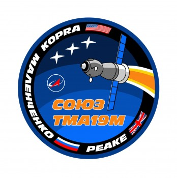 Soyuz TMA-19M patch