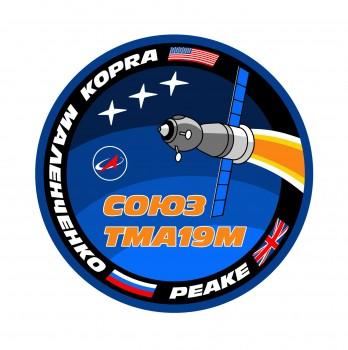 Soyuz TMA-19M patch