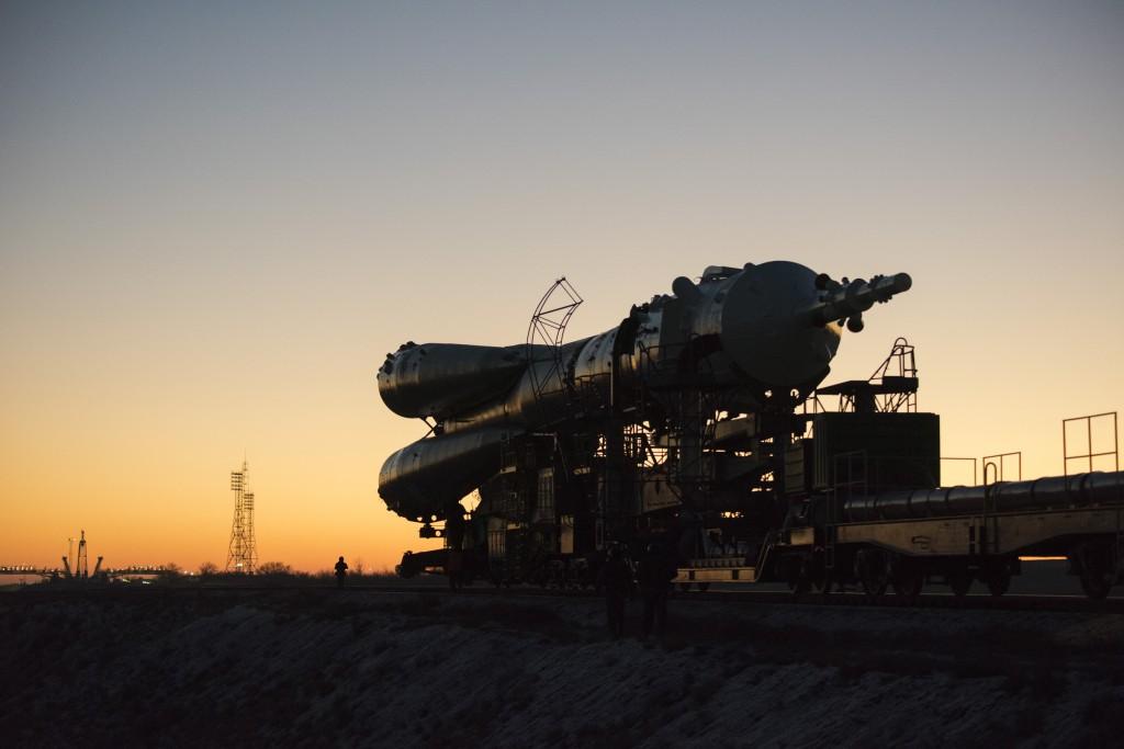 Soyuz TMA-19M. Credits: ESA-S. Corvaja