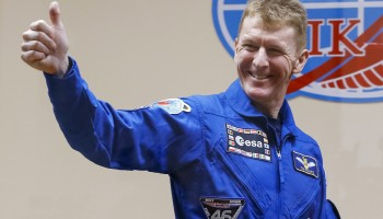 Tim Peake before launch. Credits: ESA