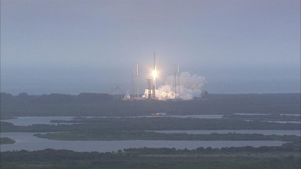 Cygnus-4 launch. Credits: NASA