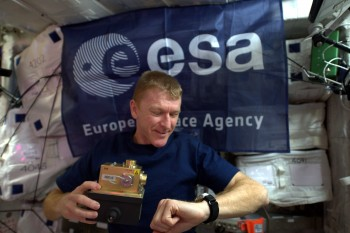 I like an accurate watch. Credits: ESA/NASA