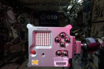 AstroPi. Credits: ESA/NASA