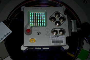 Astro Pi in space. Credits: ESA/NASA