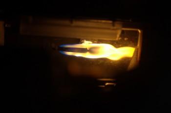 Flames in microgravity taken by Tim Peake. Credits: ESA/NASA