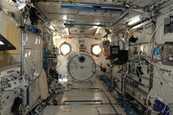 Japanese Kibo space laboratory. Credits: ESA/NASA