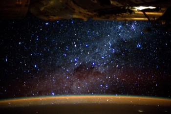 View of the Milky Way from Space Station. Credits: ESA/NASA