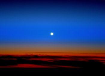 Venus rising. Credits: ESA/NASA