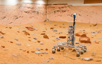 Exomars rover at Stevenage. Credits: Airbus Defence and space