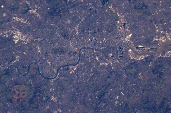 London. Credits: ESA/NASA