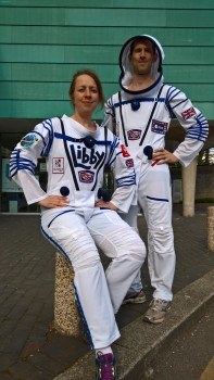 Libby and Jon in Sokul Suit