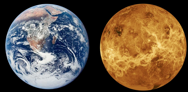 venus and planet earth - photo #8