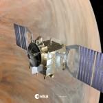 Venus Express in orbit around Venus